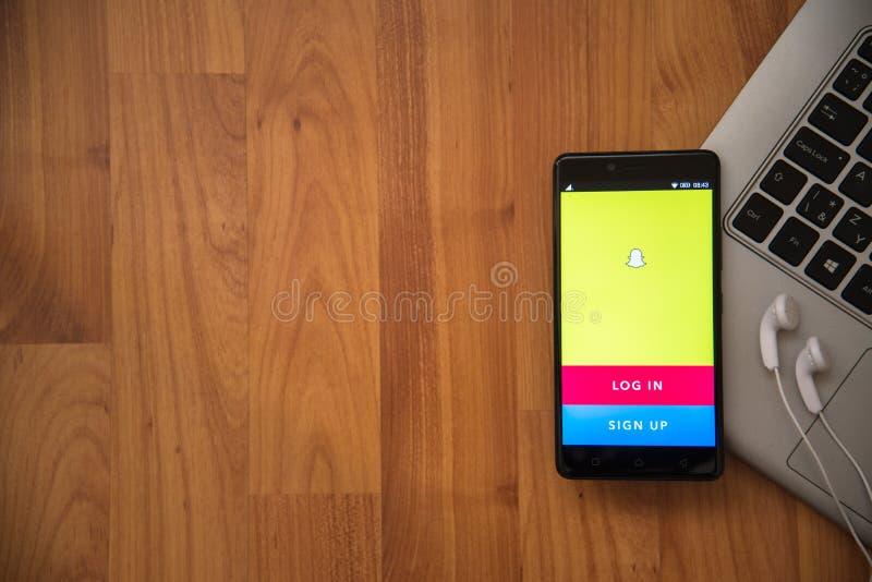 Snapchat стоковое фото