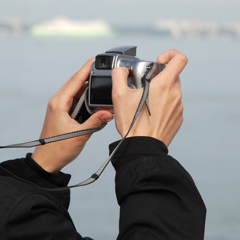 Download Snapshot stock photo. Image of picture, zoom, hands, camera - 6989054