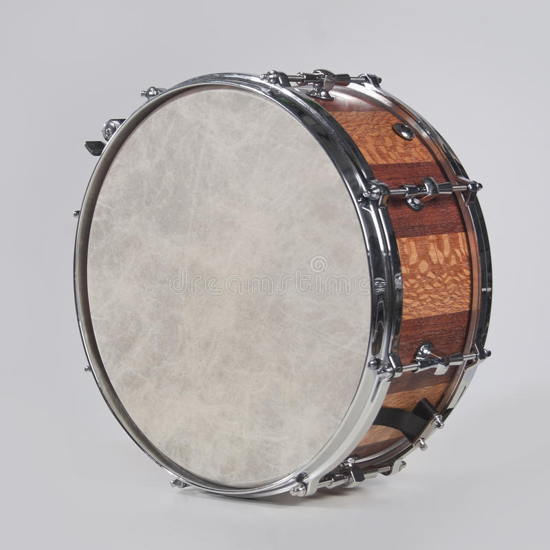 Snare drum isolated royalty free stock image