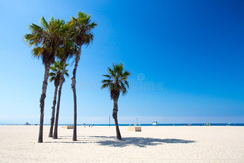 Snata Monica plaży scena zdjęcie royalty free
