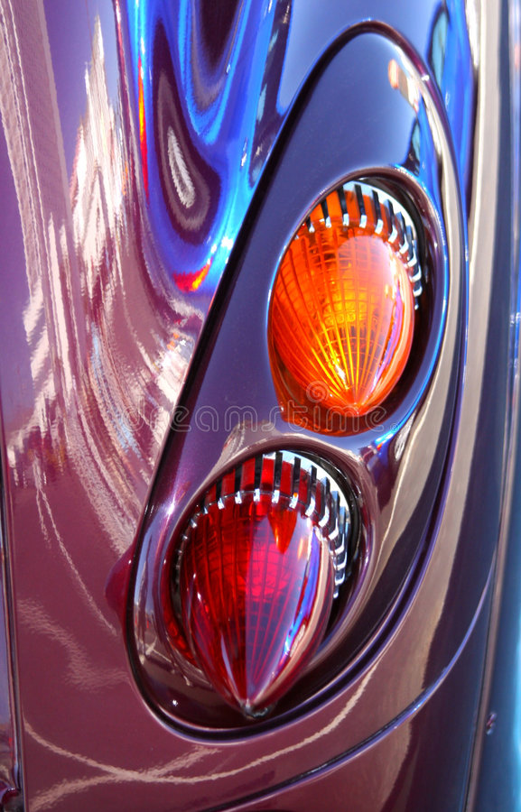 Snazzy Taillights stock photography