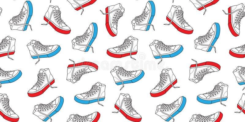 Sport Wallpaper Pattern: Sneaker Shoe Canvas Sport Wear Foot Wear Training Running