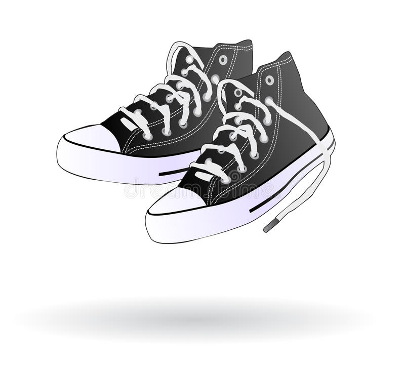 Sneaker shoes isolated