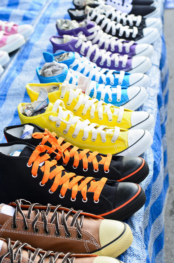 Sneaker shoes stock images
