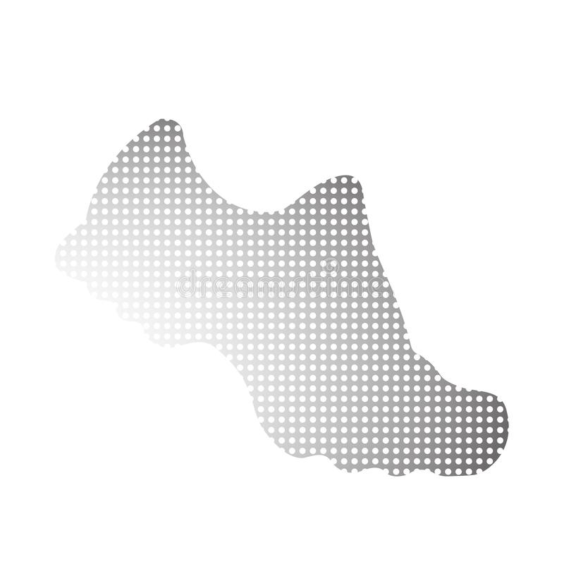 Sneaker. Vector black and white icon for marathon and fitness. Isolated illustration. royalty free stock photos