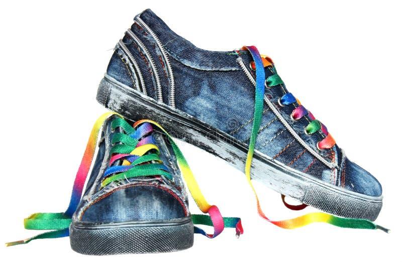 Sneakers Obraz Royalty Free