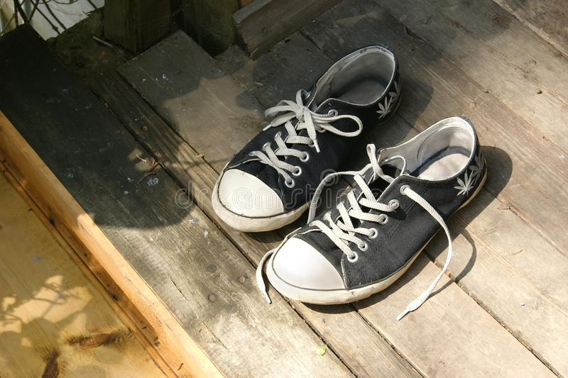 Download Sneakers stock image. Image of wood, comfortable, wooden - 20352497
