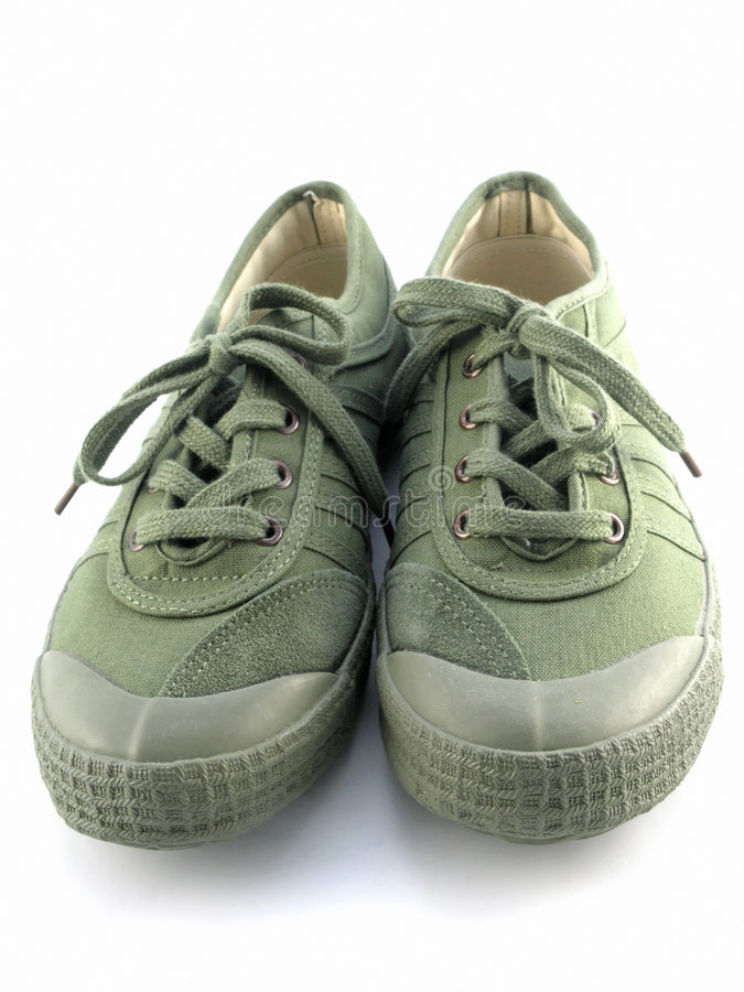 Sneakers royalty free stock photos