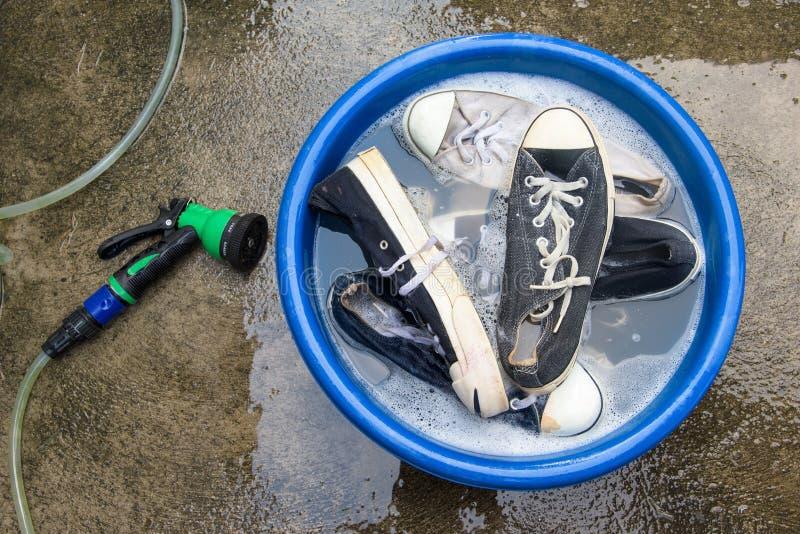 sneakers higiena obrazy stock