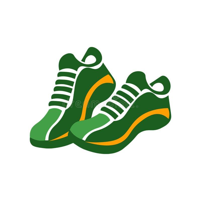 Sneakers ikony wektoru znak i symbol odizolowywający na białym tle, Sneakers logo pojęcie ilustracji
