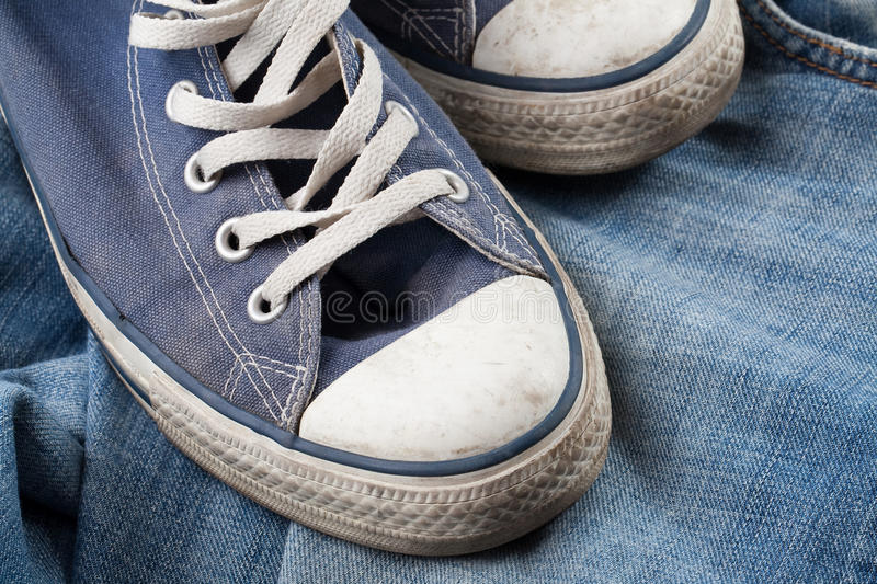 Download Sneakers And Jeans Royalty Free Stock Photo - Image: 12325705