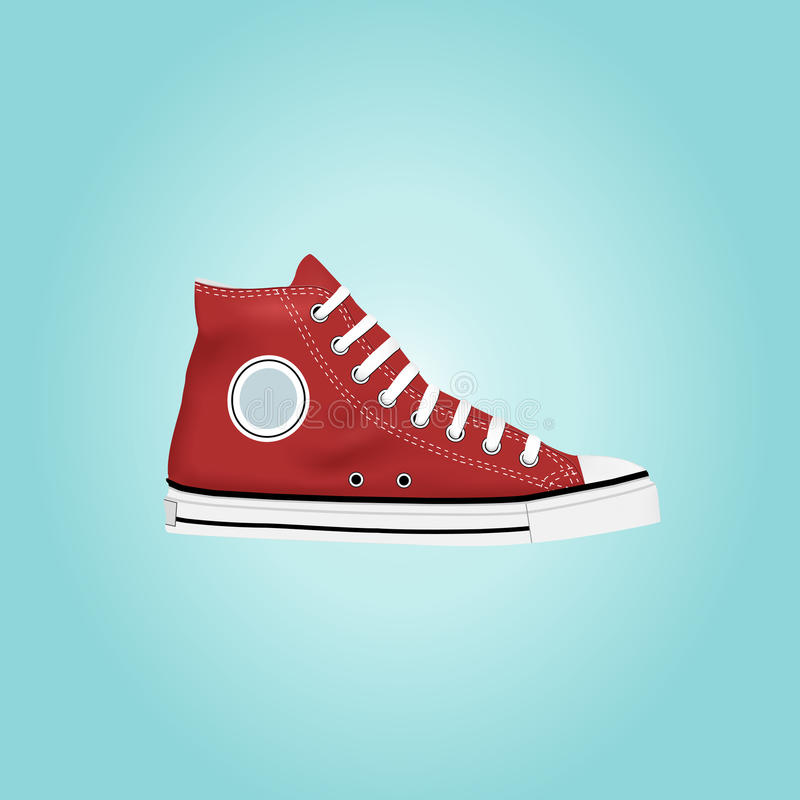 Sneakers royalty free illustration