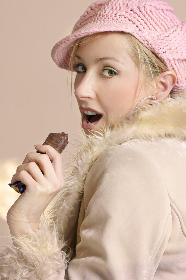 Sneaking Em Sua Dieta Imagem de Stock Royalty Free
