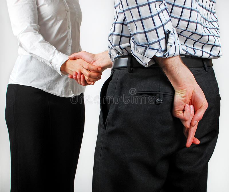 Download Sneaky Handshake stock photo. Image of corporate, pitch - 23830104