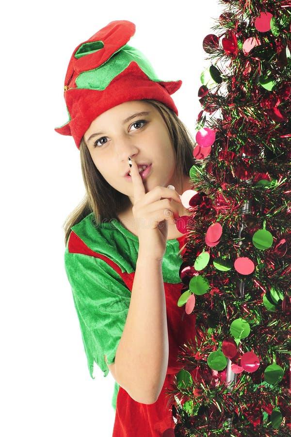 Sneaky Nastoletni elf zdjęcie stock