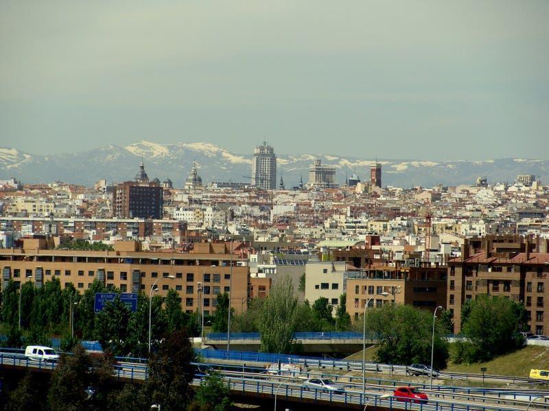 Sneeuw, ijs, wit en Spanje stock foto