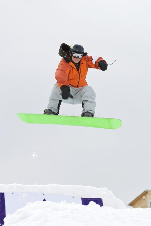 Sneeuw-park royalty-vrije stock foto's
