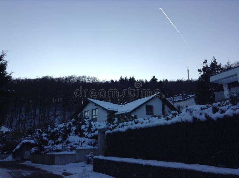 Sneeuw Stedelijk stock foto's
