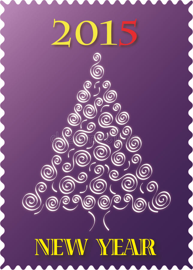 Sneeuw witte nette Kerstmis vector illustratie
