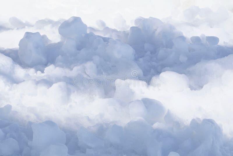 Sneeuw zoals Wolken royalty-vrije stock afbeelding