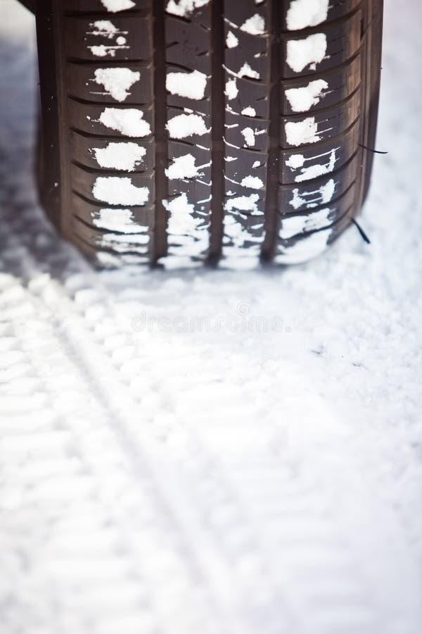 Sneeuwband stock afbeelding