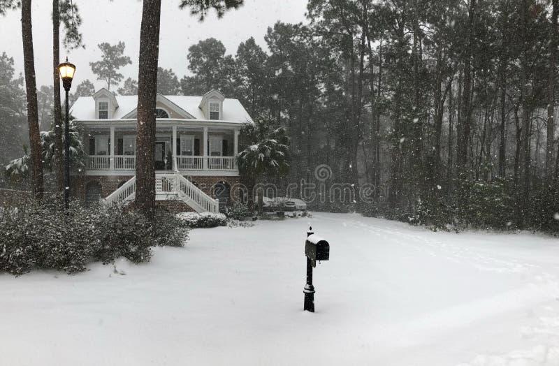 sneeuwdagen royalty-vrije stock afbeeldingen