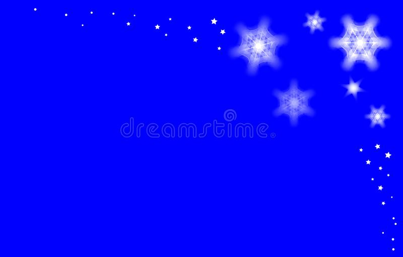 Sneeuwende abstracte achtergrond vector illustratie