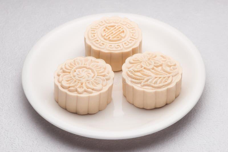 Sneeuwhuid mooncakes Traditioneel Chinees medio de herfstfestival FO stock foto