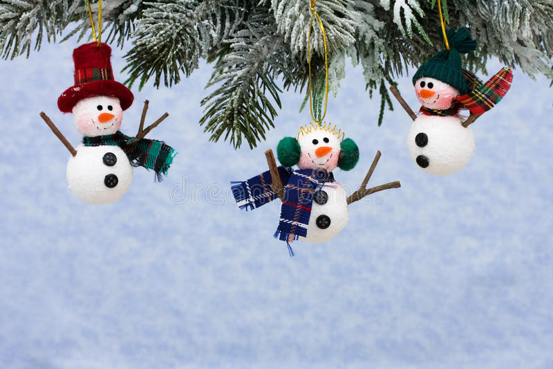 Sneeuwmannen royalty-vrije stock fotografie