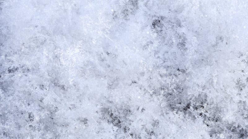 Sneeuwserie met de hoge achtergrond van de vergrotingswinter stock afbeeldingen