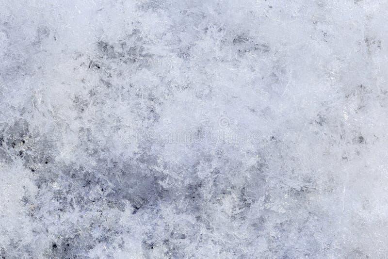 Sneeuwserie met de hoge achtergrond van de vergrotingswinter royalty-vrije stock foto's