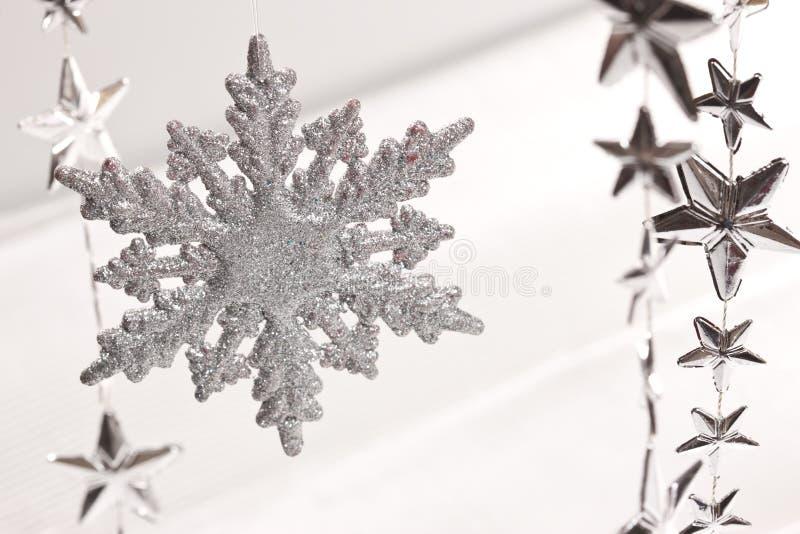 Sneeuwvlok royalty-vrije stock fotografie