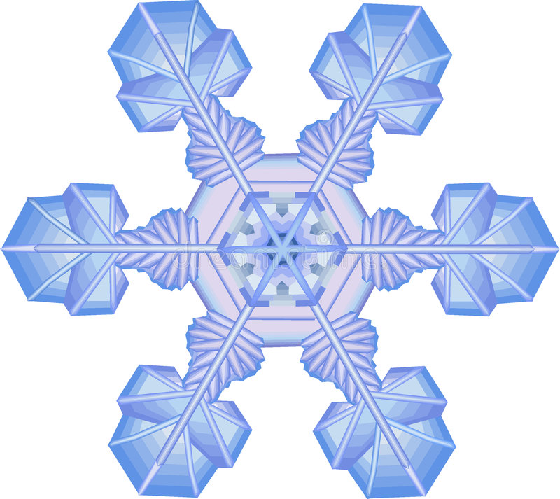 Download Sneeuwvlok vector illustratie. Illustratie bestaande uit sneeuw - 289449
