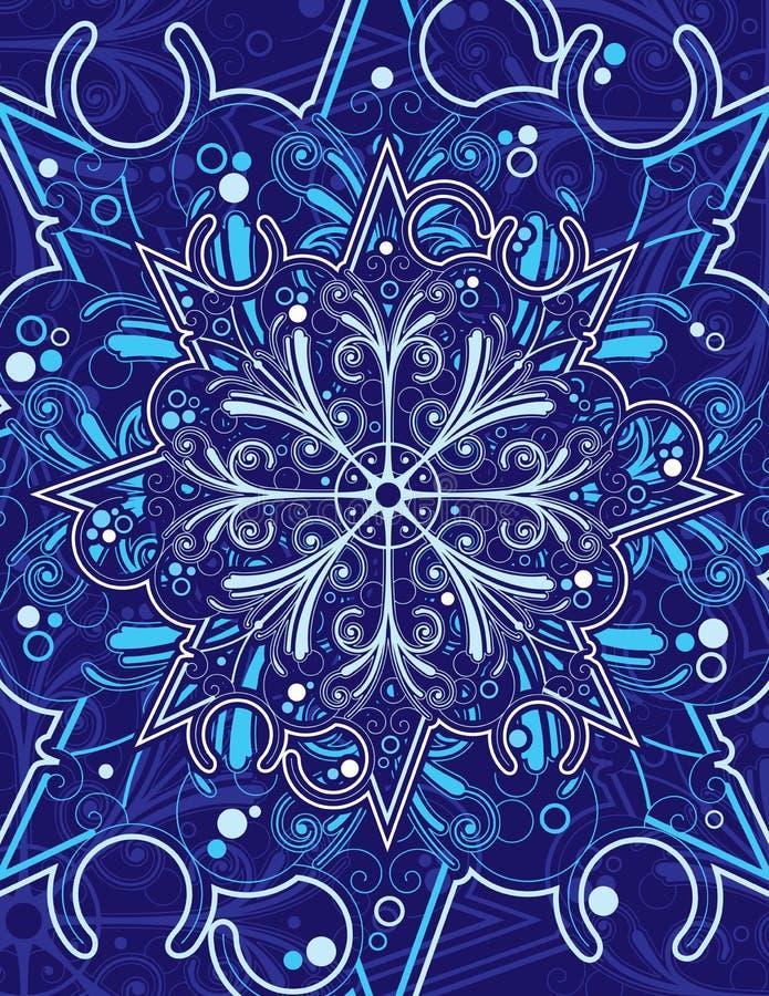 Sneeuwvlok Sier royalty-vrije stock afbeelding