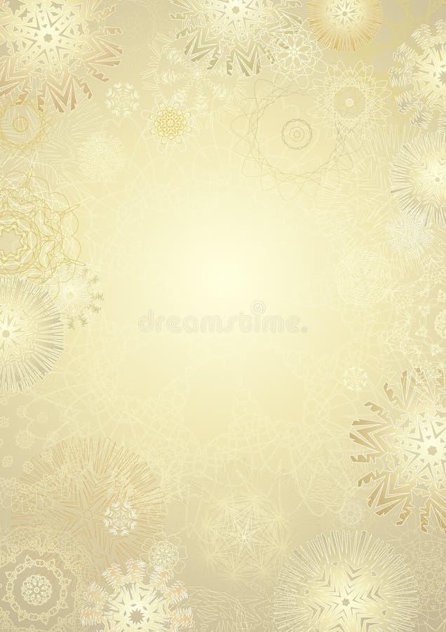 Sneeuwvlok, vector royalty-vrije illustratie
