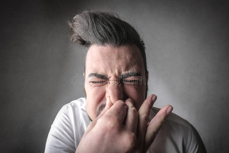 Sneeze royalty free stock photos