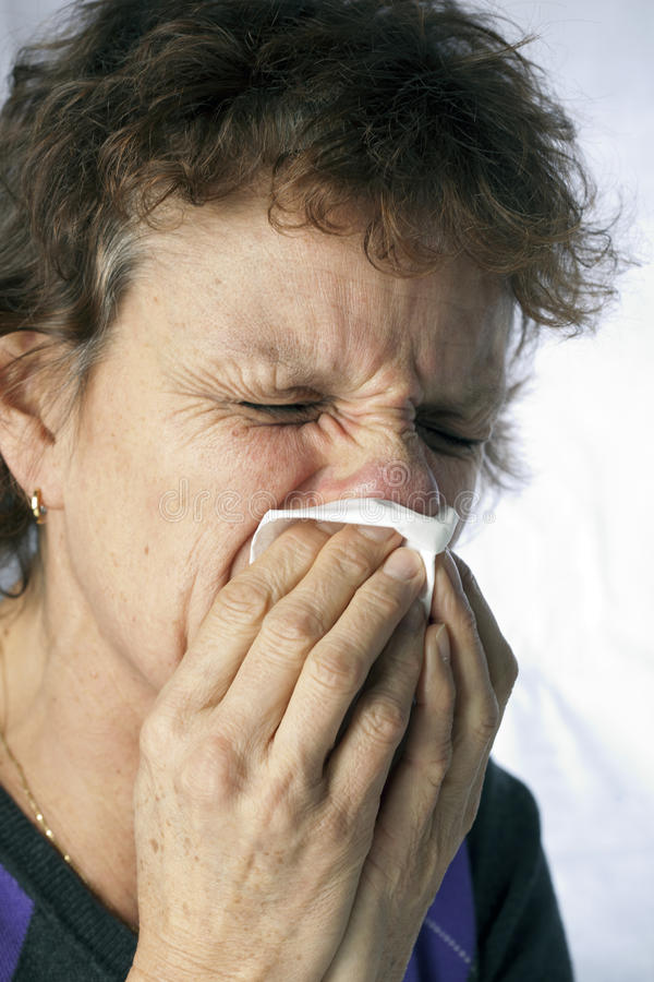 Download Sneezing stock photo. Image of caucasian, casual, copy - 22699704