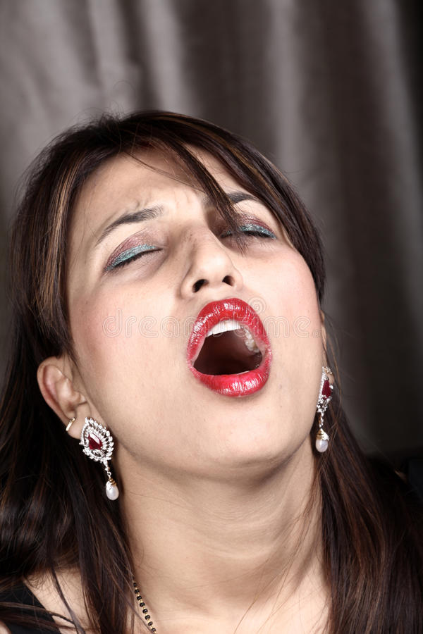 sneezing stock photography