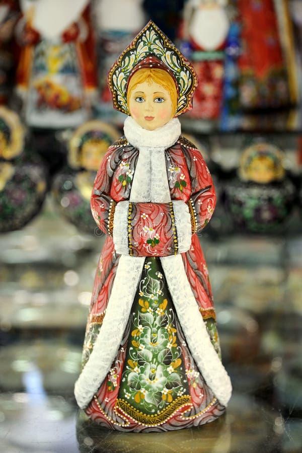 Snegurochka - la belleza rusa - artesanías rusas foto de archivo libre de regalías