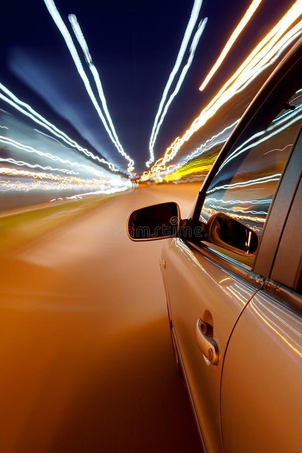 Snel het drijven van de auto royalty-vrije stock foto