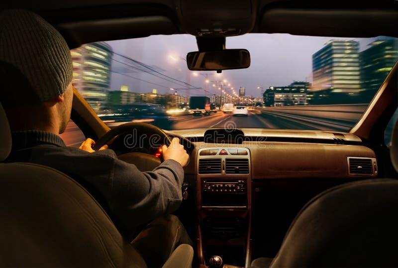 Snel het drijven van de auto royalty-vrije stock foto's
