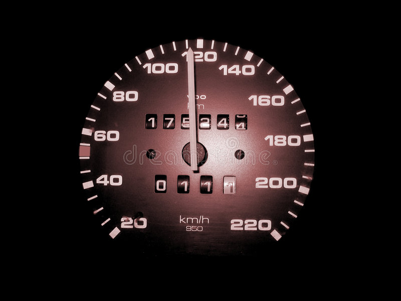 Snelheid stock foto