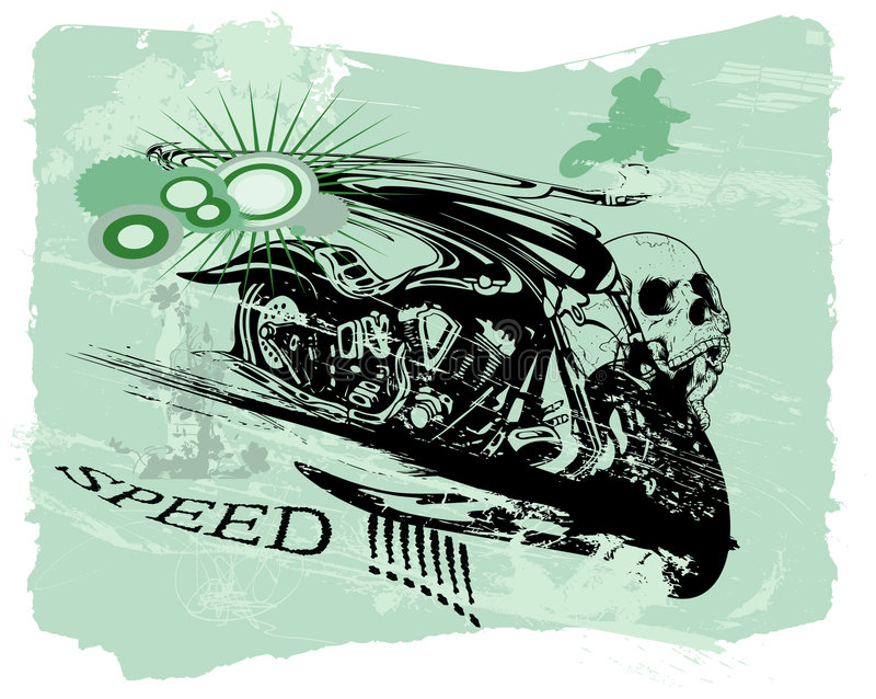 Snelheid!!! vector illustratie