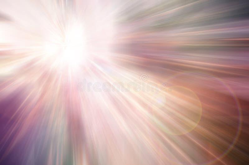 Snelheid aan het licht vector illustratie