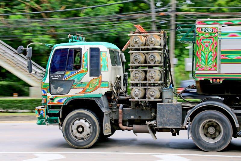 Snelheid haastig bij Km 1 Ramintra-Road royalty-vrije stock afbeelding