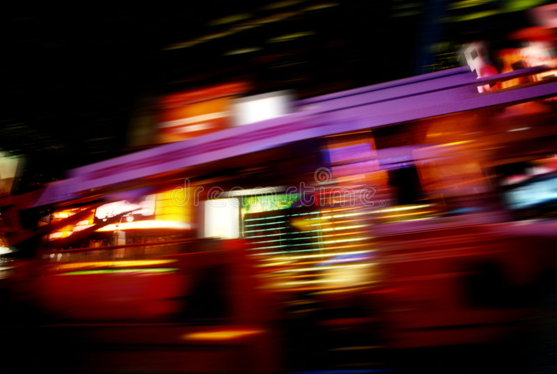 Snelheid in New York stock afbeeldingen