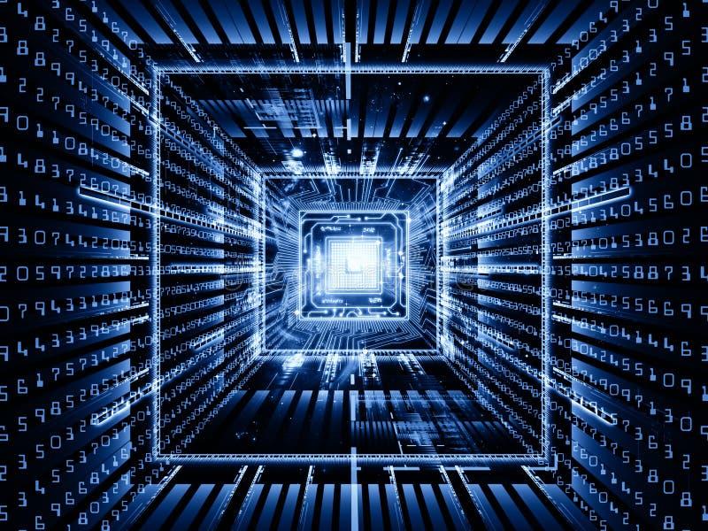 Snelheid van Computer royalty-vrije illustratie
