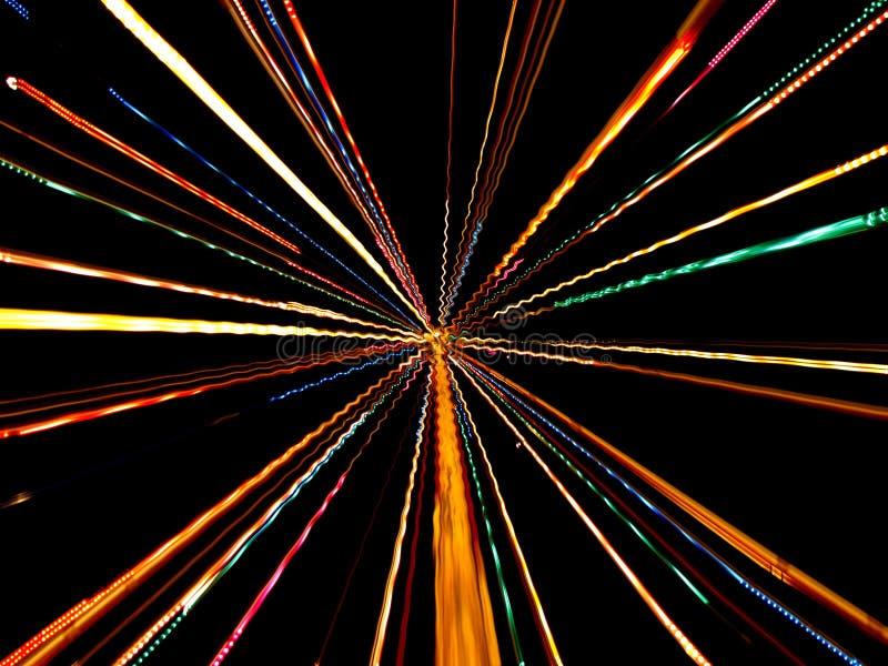 Snelheid van Licht vector illustratie