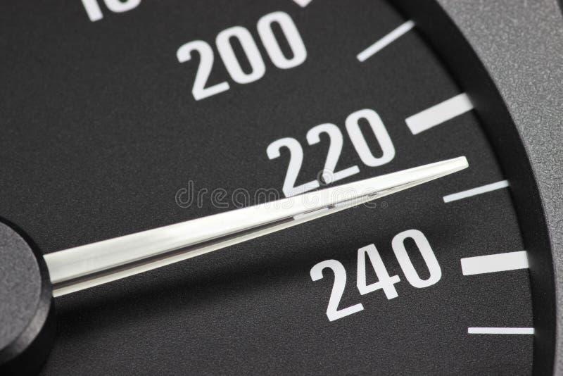 snelheidsmeter stock foto