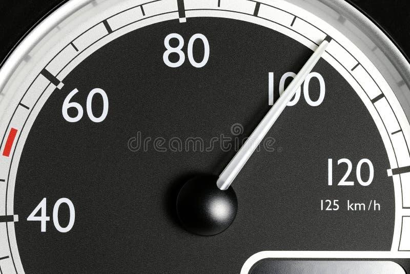 Snelheidsmeter van een vrachtwagen royalty-vrije stock afbeeldingen